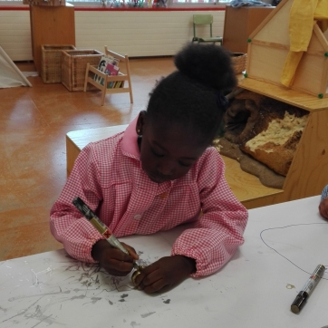 pintando una castaña 2